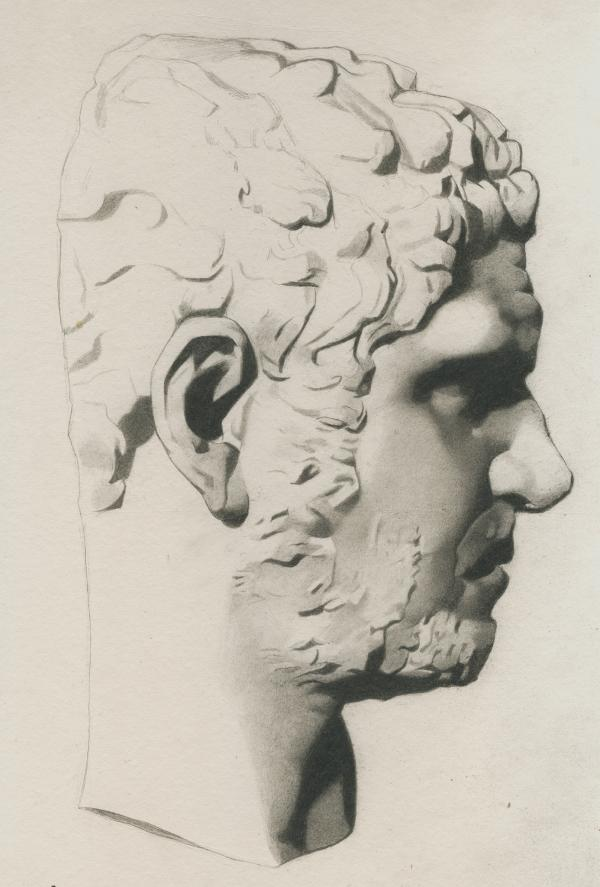 Plate I, 038 - Caracalla (unfinished)