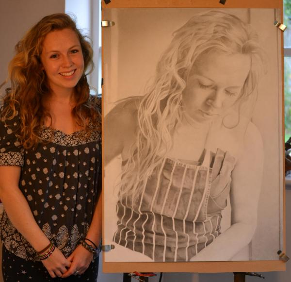 Jess and portrait